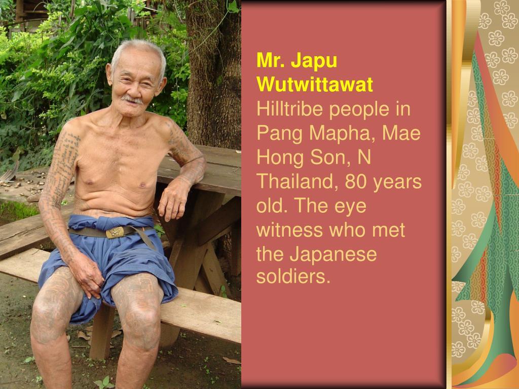 Mr. Japu Wutwittawat