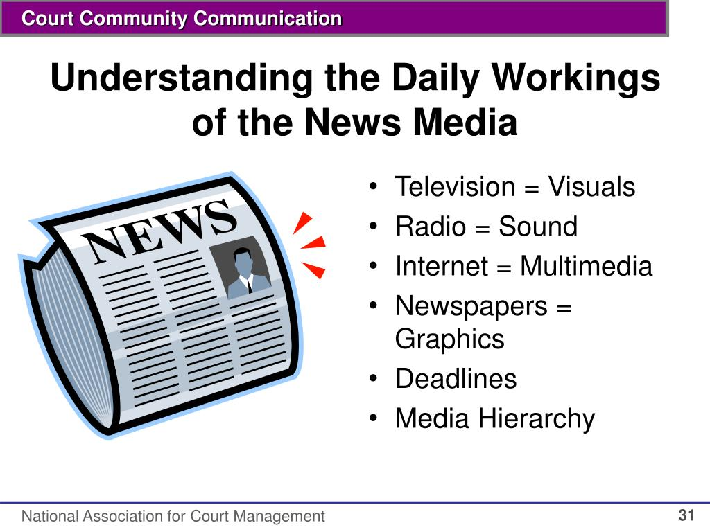 Understanding the Daily Workings of the News Media