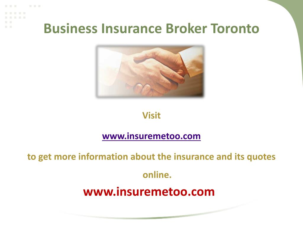 Business Insurance Broker Toronto