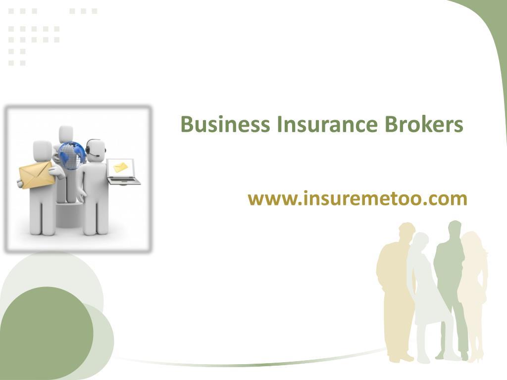 business insurance brokers