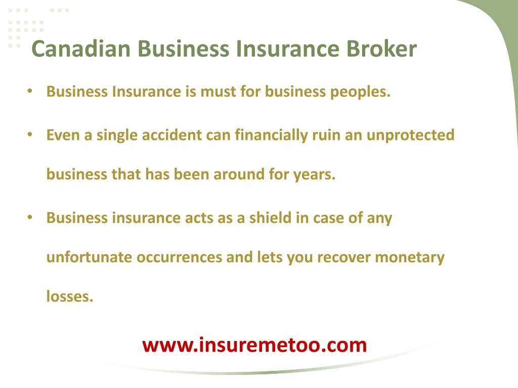 Canadian Business Insurance Broker