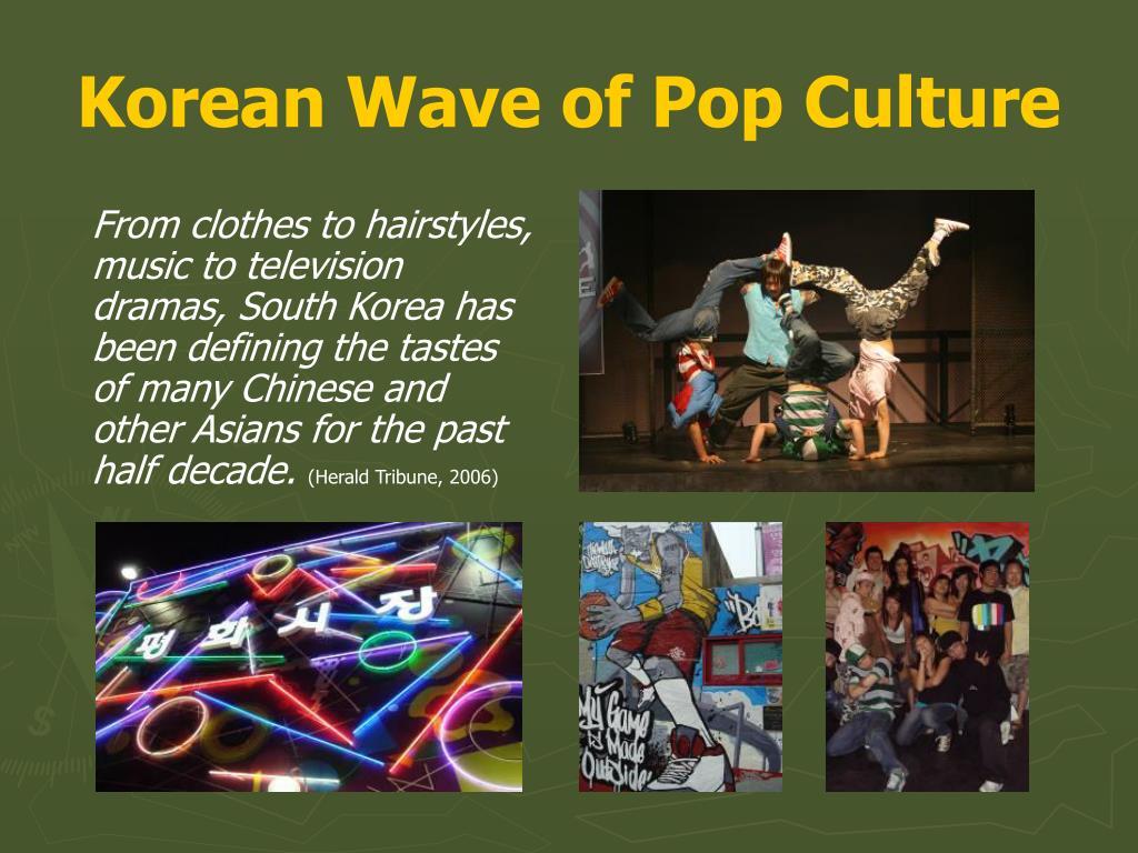 Korean Wave of Pop Culture