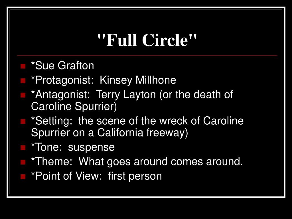 """Full Circle"""