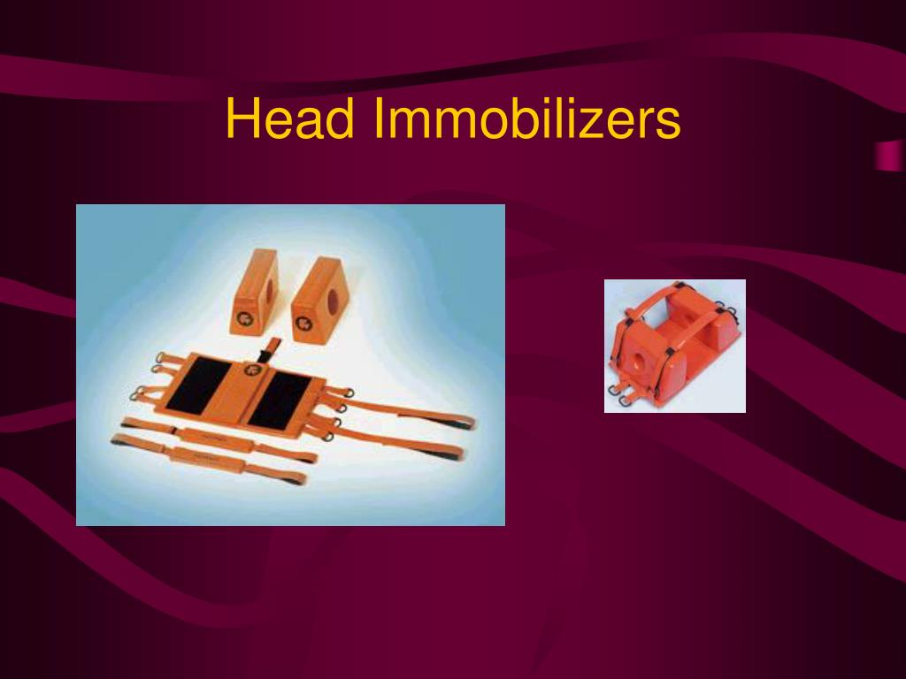 Head Immobilizers