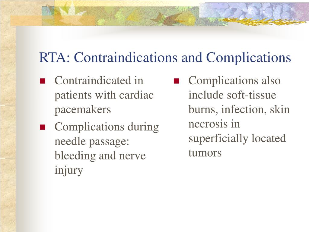 Contraindicated in patients with cardiac pacemakers