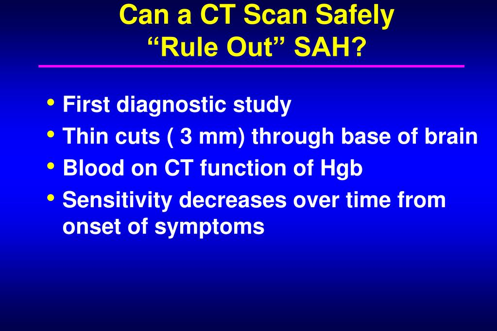 Can a CT Scan Safely