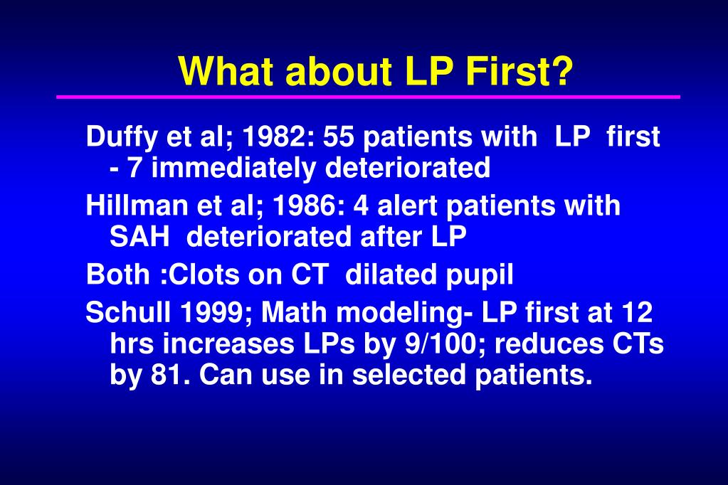 What about LP First?