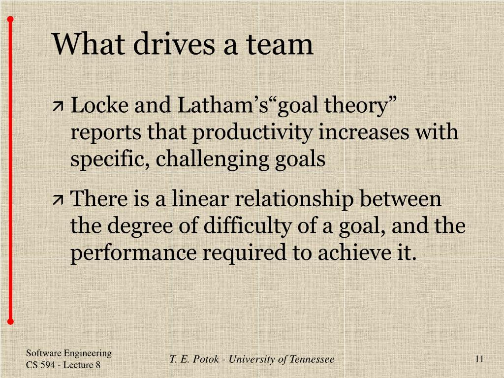 What drives a team