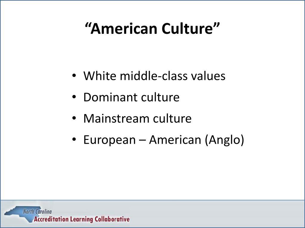 """""""American Culture"""""""