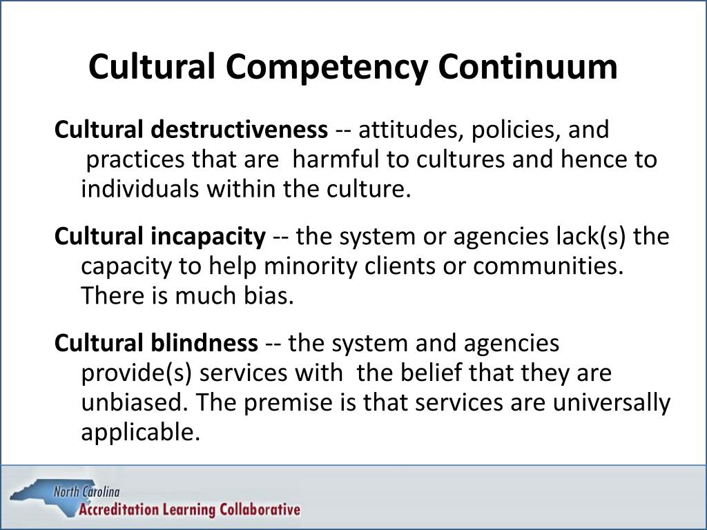 Cultural Competency Continuum
