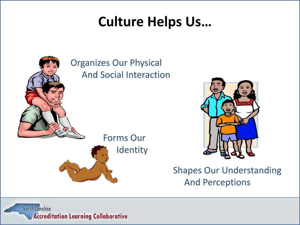 Culture Helps Us…