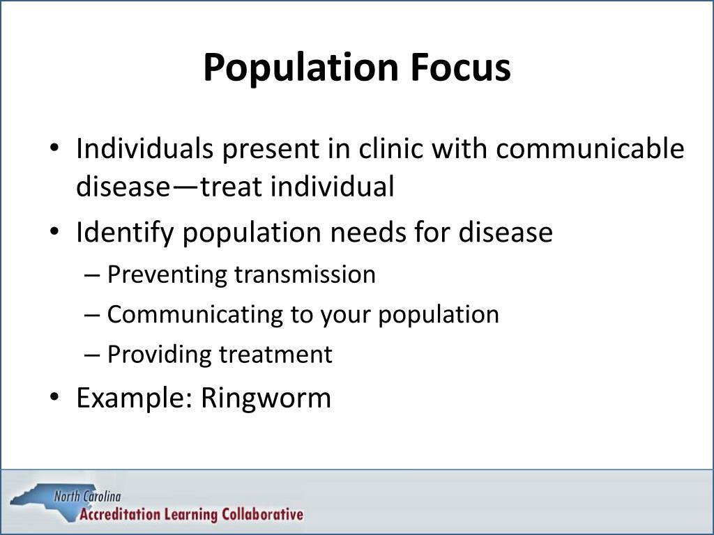 Population Focus