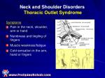 neck and shoulder disorders thoracic outlet syndrome19