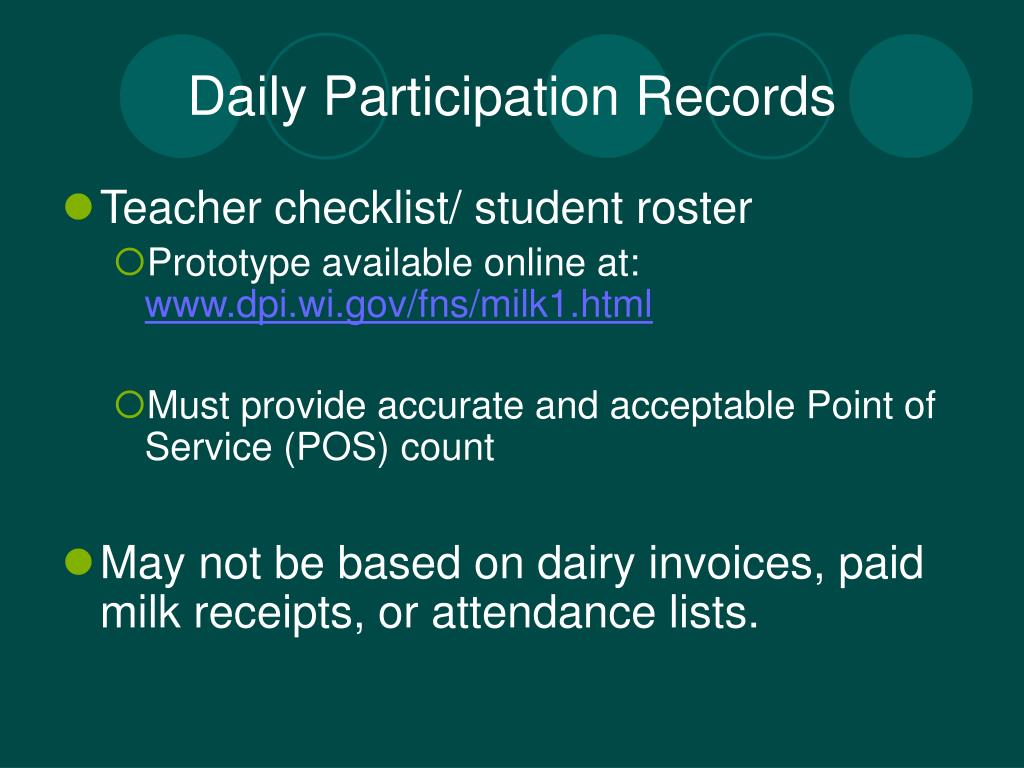 Daily Participation Records