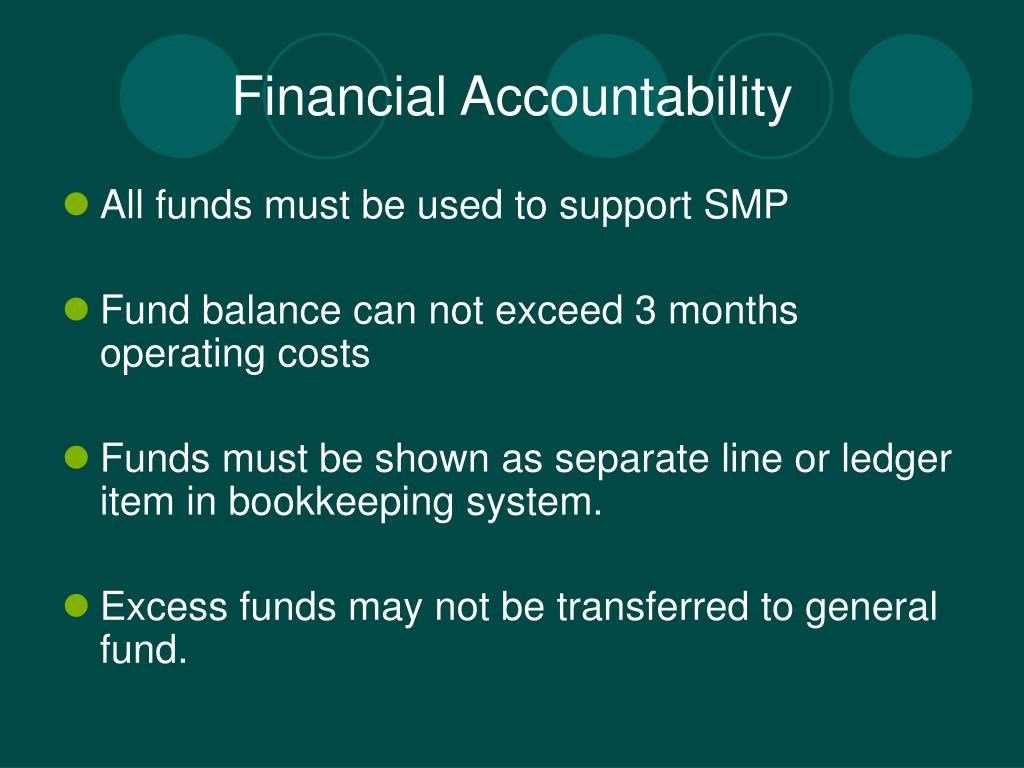 Financial Accountability