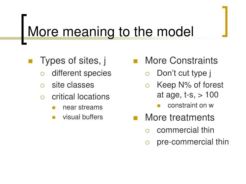 Types of sites, j