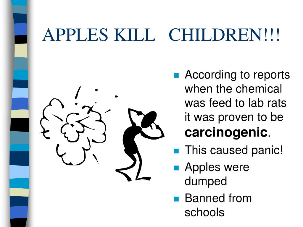 APPLES KILL CHILDREN!!!