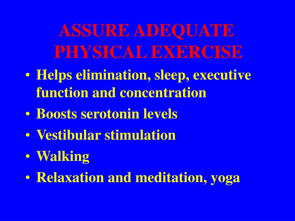 ASSURE ADEQUATE