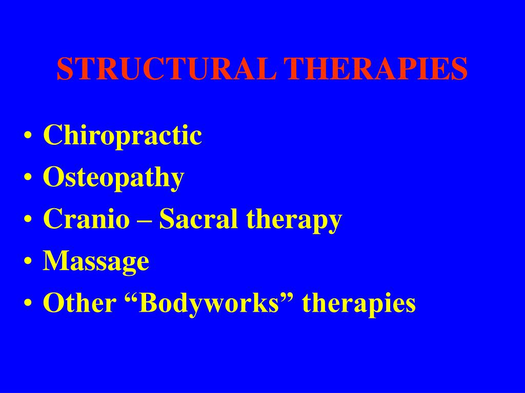 STRUCTURAL THERAPIES