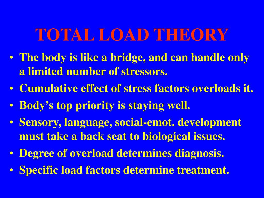 TOTAL LOAD THEORY