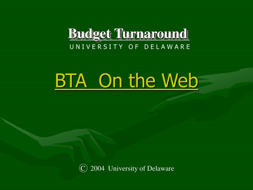 BTA  On the Web