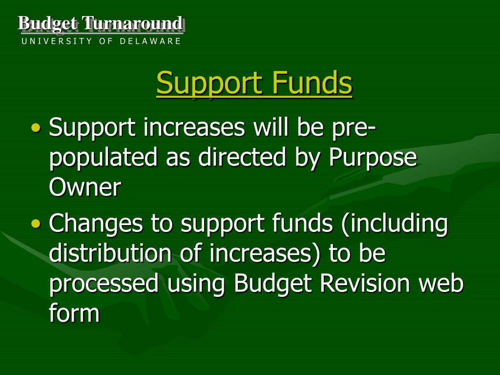 Support Funds