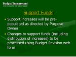 support funds37