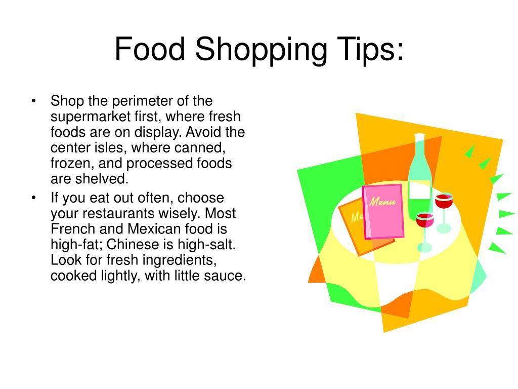 Food Shopping Tips: