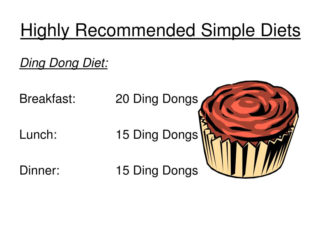 Highly Recommended Simple Diets