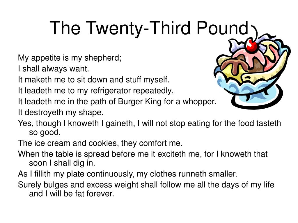 The Twenty-Third Pound