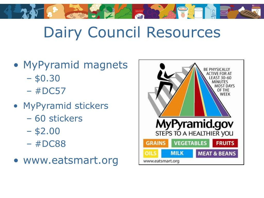 Dairy Council Resources