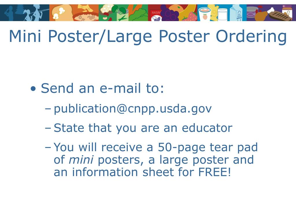 Mini Poster/Large Poster Ordering