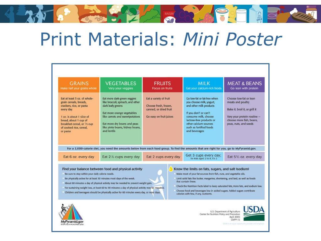 Print Materials: