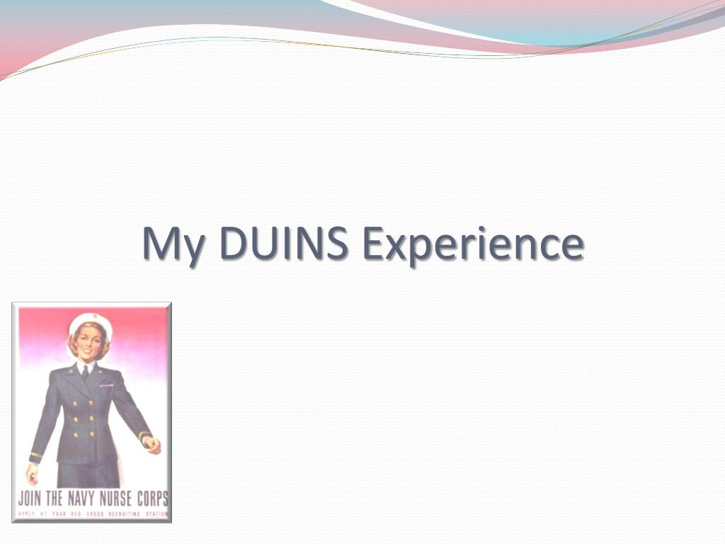 My DUINS Experience
