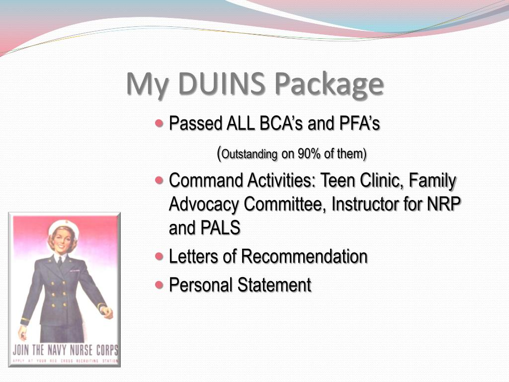 My DUINS Package