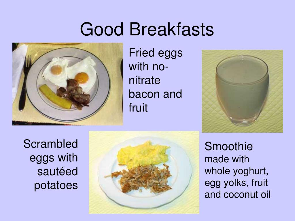 Good Breakfasts