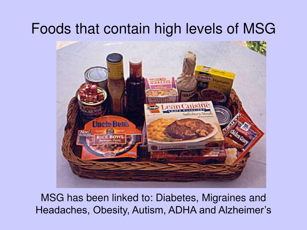 MSG Foods