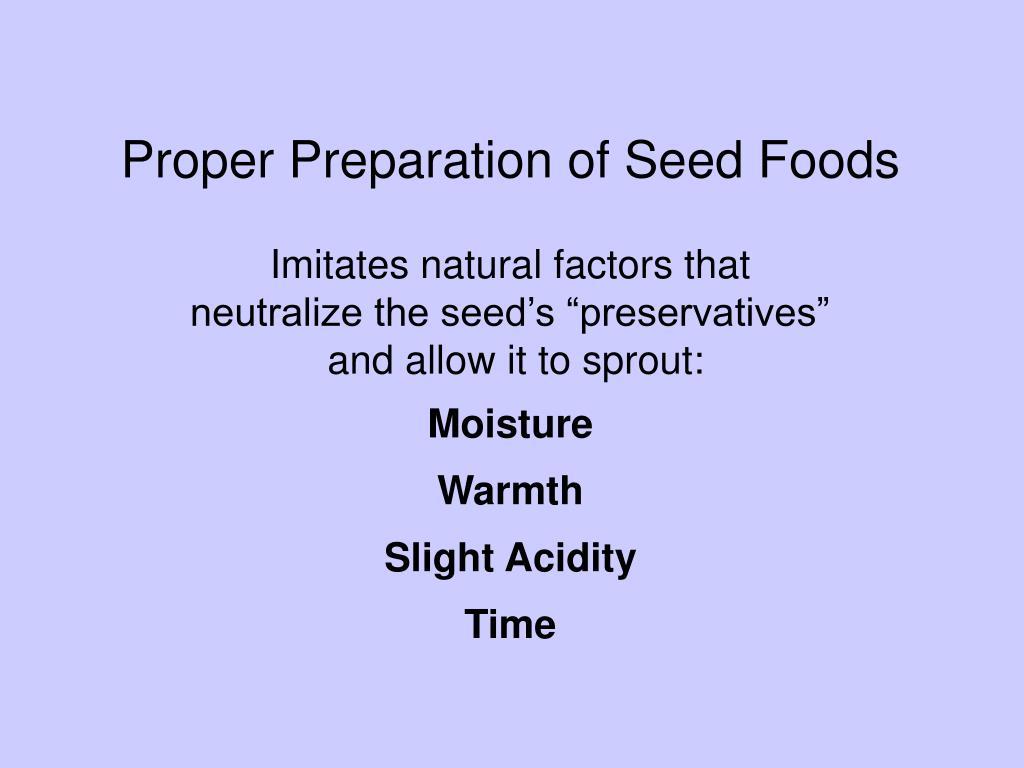 Proper Grain Prep