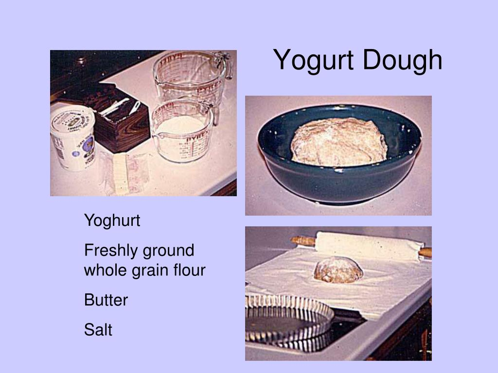 Yogurt Dough