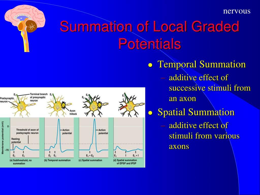 Summation of Local Graded Potentials