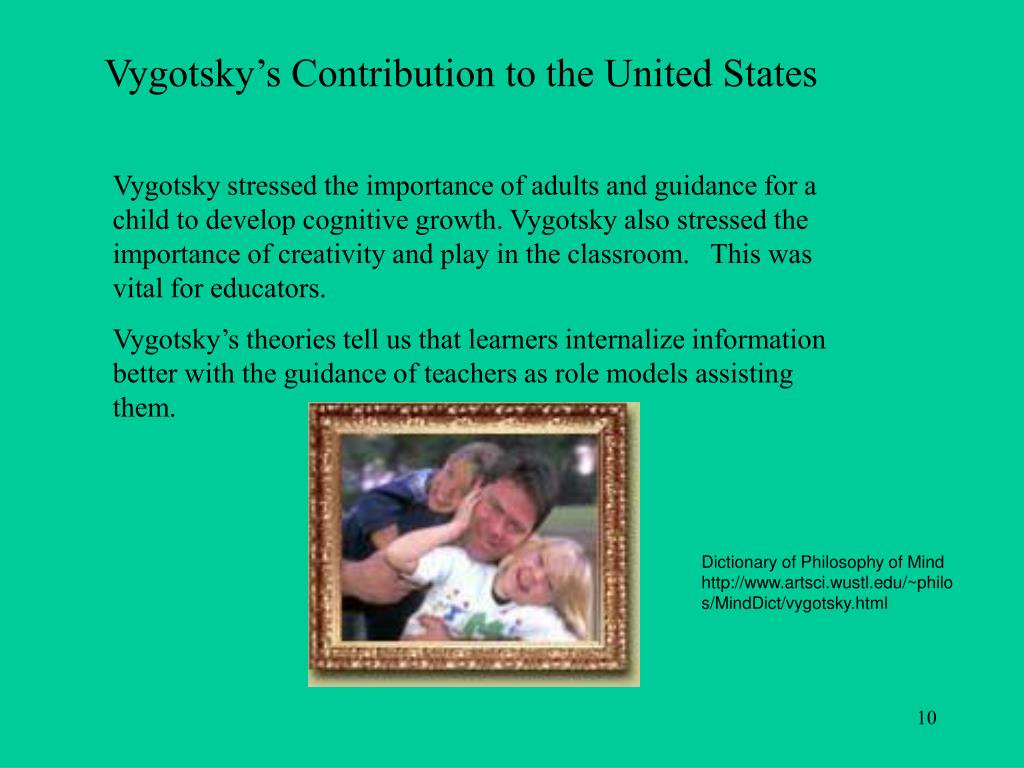 Vygotsky's Contribution to the United States