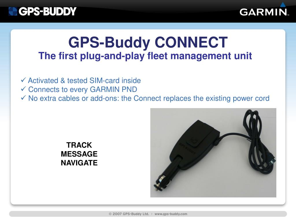 GPS-Buddy CONNECT