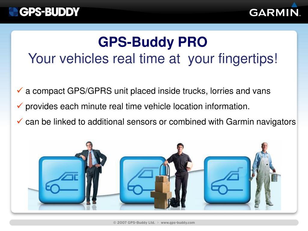 GPS-Buddy PRO