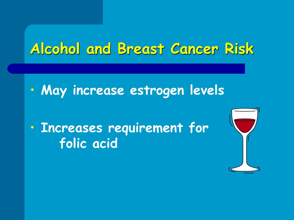 Alcohol and Breast Cancer Risk