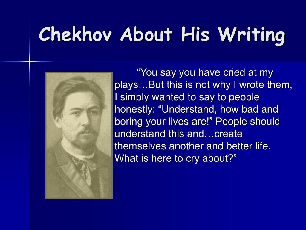 an analysis of anton chekhovs the bet A study guide for anton chekhov's the bet (short stories for students) - kindle edition by cengage learning gale download it once and read it on your kindle device.