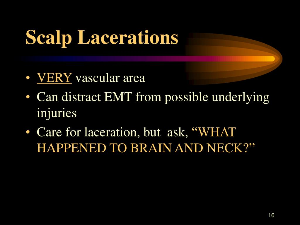 Scalp Lacerations
