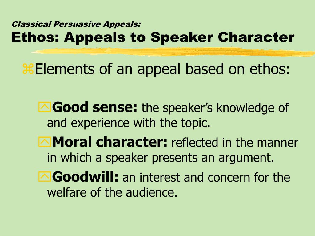 the impact of persuasive appeal