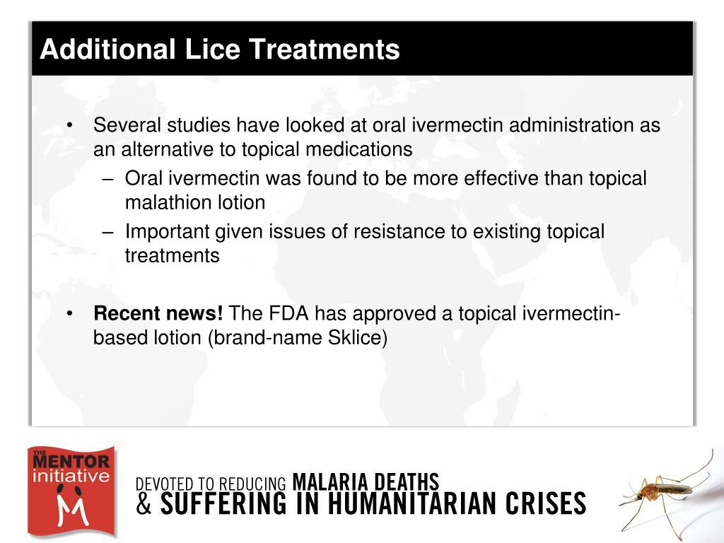 Additional Lice Treatments