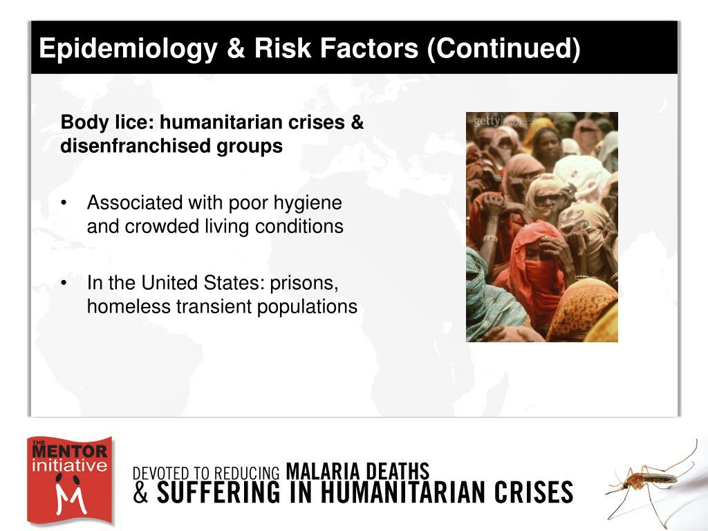 Epidemiology & Risk Factors (Continued)