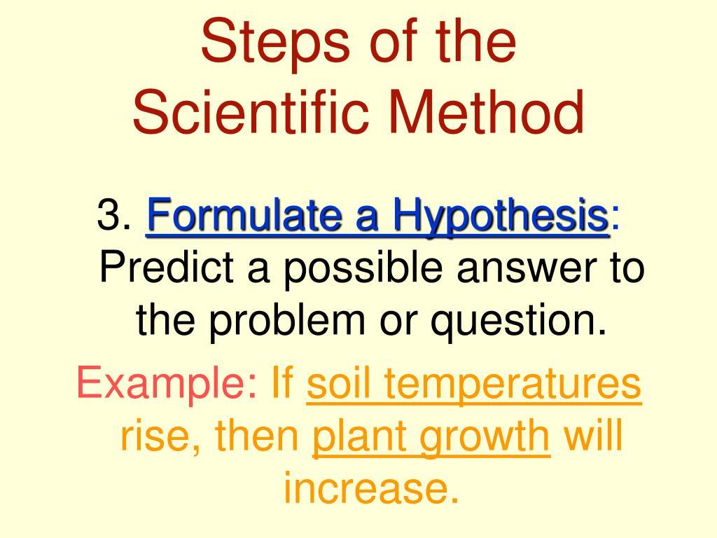 scientific method essay questions
